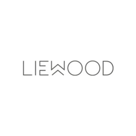 Liewood® Pokrovček s slamico in krtačko za stekleničko Falk 350ml Sea Blue
