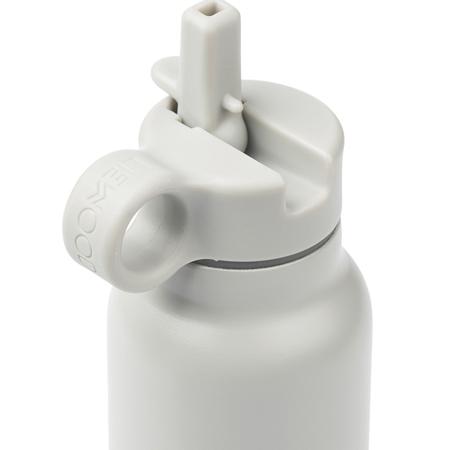 Liewood® Pokrovček s slamico in krtačko za stekleničko Falk 350ml Creme