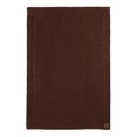 Elodie Details® Pletena volnena odejica Chocolate 75x100