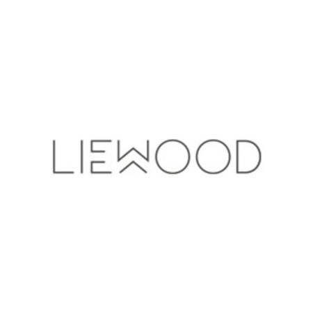 Liewood® Pokrovček s slamico in krtačko za stekleničko Falk 250ml Light grey