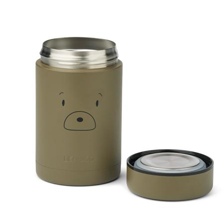 Slika Liewood® Termo posodica za hrano Nadja Mr bear Khaki 250ml