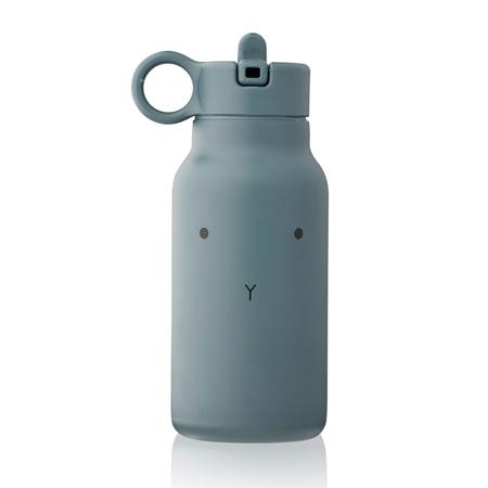 Liewood® Steklenička iz nerjavečega jekla Falk Rabbit Whale Blue 250ml
