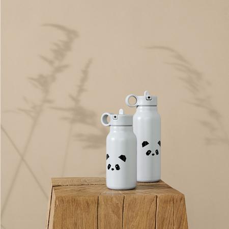 Liewood® Steklenička iz nerjavečega jekla Falk Panda light grey 350ml