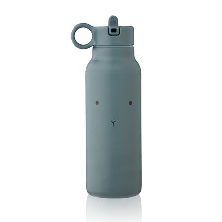 Liewood® Steklenička iz nerjavečega jekla Falk Rabbit whale blue 350ml