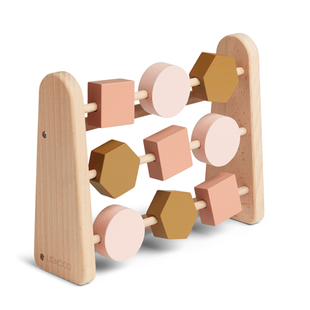 Liewood® Leseno računalo Abacus Geometric Rose Multi Mix
