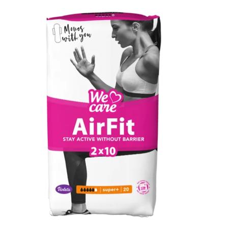 Slika Violeta®  Higienski vložki We Care Air Fit Super+ 20/1