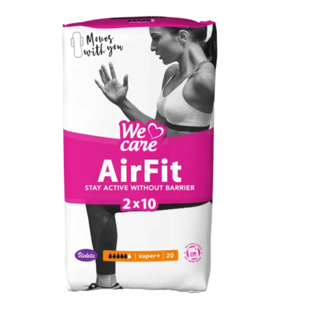 Violeta®  Higienski vložki We Care Air Fit Super+ 20/1