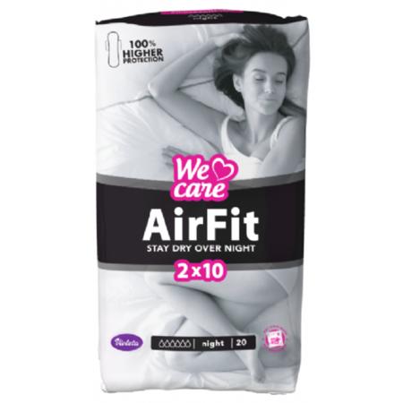 Slika Violeta® Higienski vložki We Care Air Fit Night 20/1