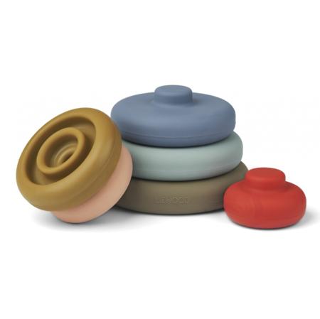 Liewood® Obročki za zlaganje Dag Multi Mix
