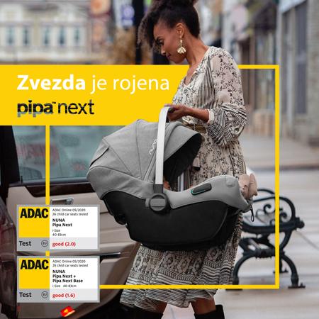 Nuna® Otroški avtosedež Pipa™ Next i-Size 0+ (0-13 kg) Caviar