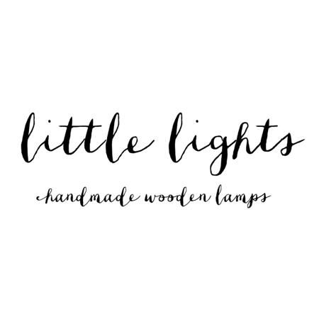 Little Lights® Ročno izdelana lesena lučka Bunny Snow White