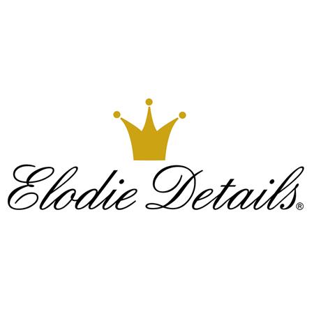 Elodie Details® Mehka bombažna odejica Unicorn Rain 75x100