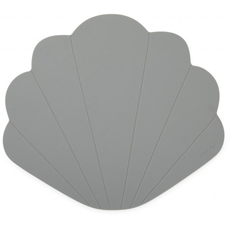 Konges Sløjd® Silikonska podloga za hranjenje Light Blue