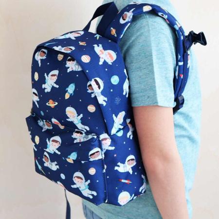 A Little Lovely Company® Otroški mini nahrbtnik Astronavt
