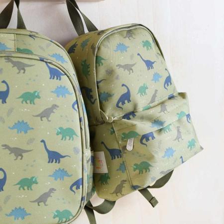 A Little Lovely Company® Otroški mini nahrbtnik Dinozaver