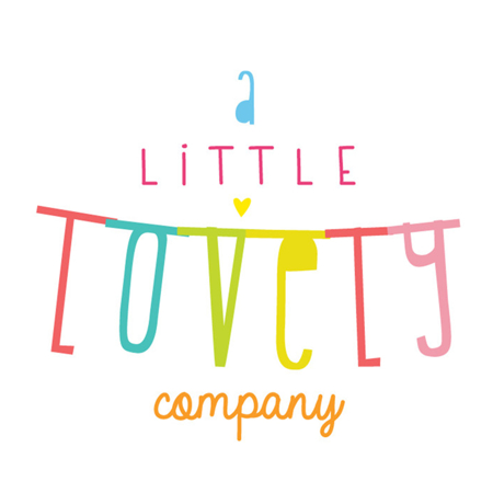 A Little Lovely Company® Obešanka črke Gold