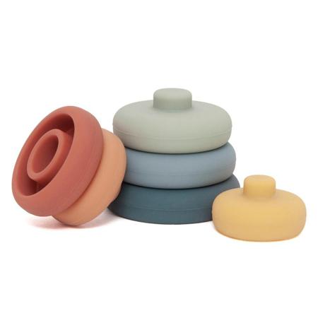 Petit Monkey® Obročki za zlaganje Baked Clay