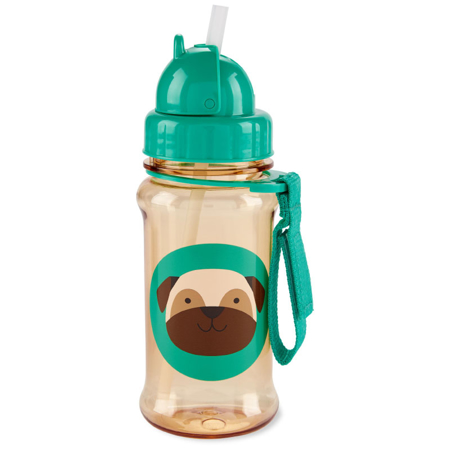 Skip Hop® Steklenička s slamico Pug