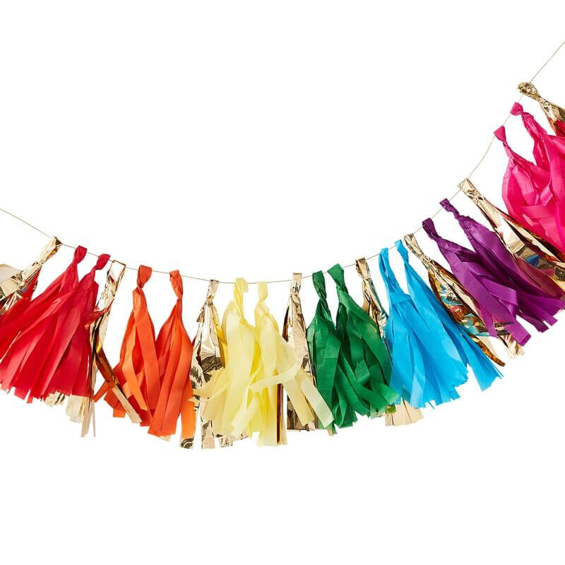 Ginger Ray® Pom Pom Gerlanda Rainbow