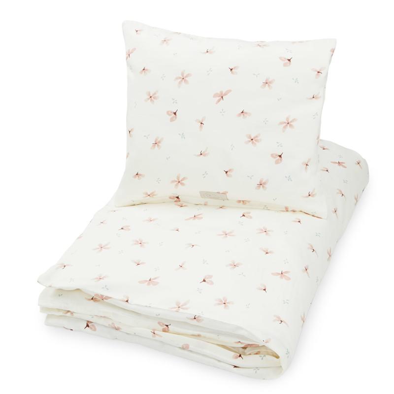 CamCam® Otroška posteljnina Windflower Creme Baby 70x100