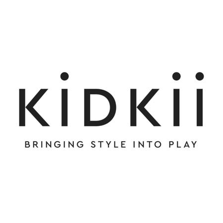 Kidkii® Okrogel Rose Bazen s kroglicami Grey 90x40