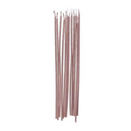 Ginger Ray® Visoke svečke Rose Gold 12 kosov