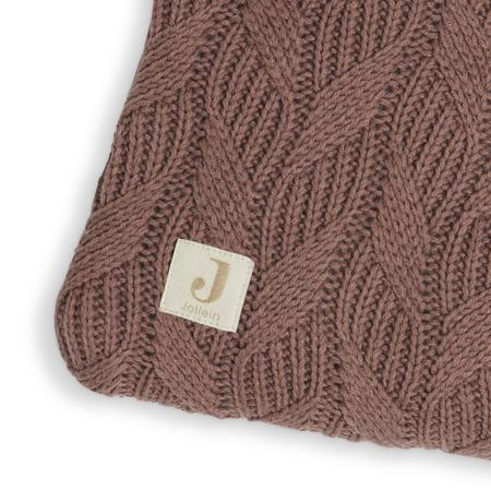 Jollein® Igralna podloga Spring Knit 100x80 Chestnut