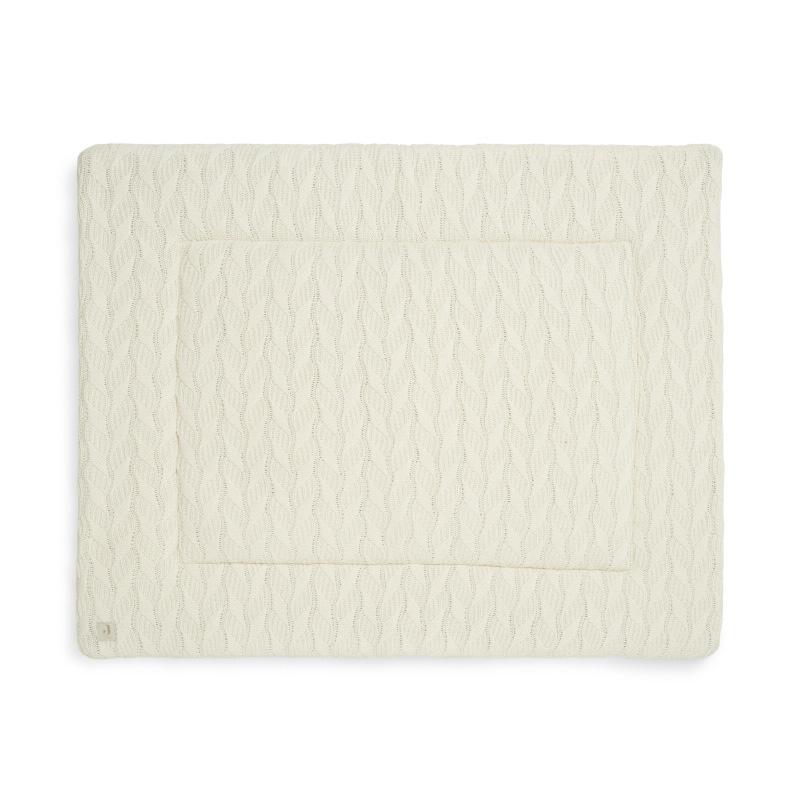 Jollein® Igralna podloga Spring Knit 100x80 Ivory