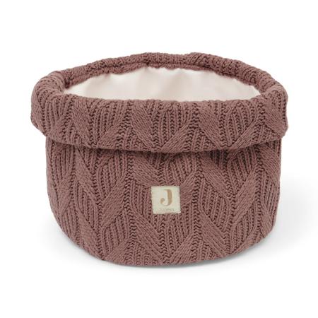 Slika Jollein® Košara za shranjevanje Spring Knit Chestnut