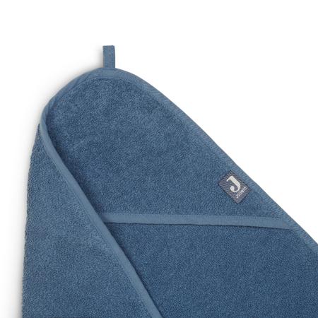 Jollein® Brisača s kapuco Jeans Blue 75x75