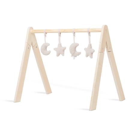 Slika Jollein® Aktivnostne igračke za igralni center Moon Nougat 4 kosi