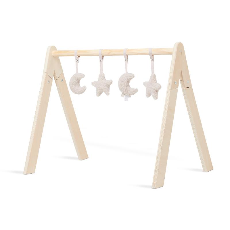 Jollein® Aktivnostne igračke za igralni center Moon Nougat 4 kosi
