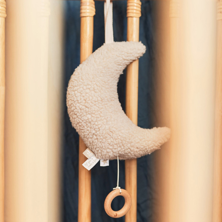 Jollein® Glasbena obešanka Moon Nougat