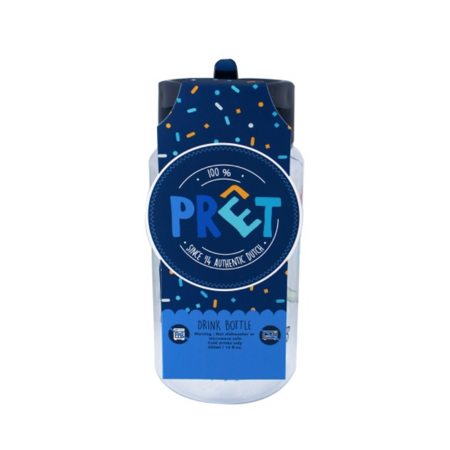 Prêt® Steklenička Eat Drink Repeat