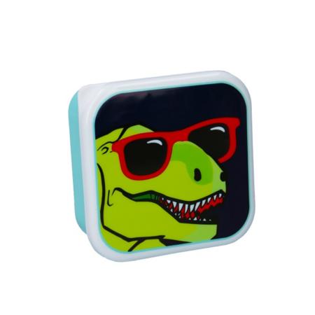 Pret® Set škatlic za prigrizke Eat Drink Repeat Dinozaver