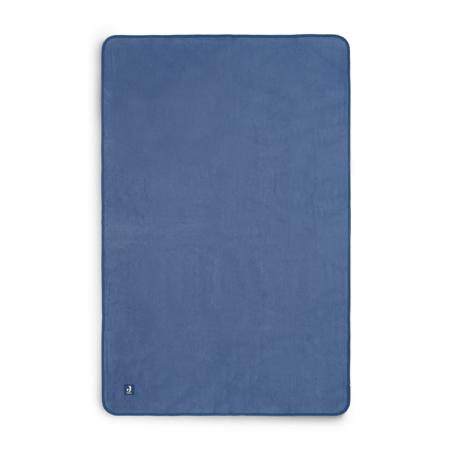Jollein® Bombažna odejica Jeans Blue 150x100