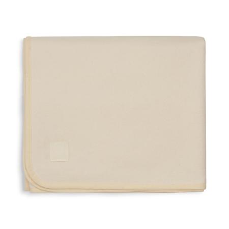 Slika Jollein® Bombažna odejica Ivory 150x100