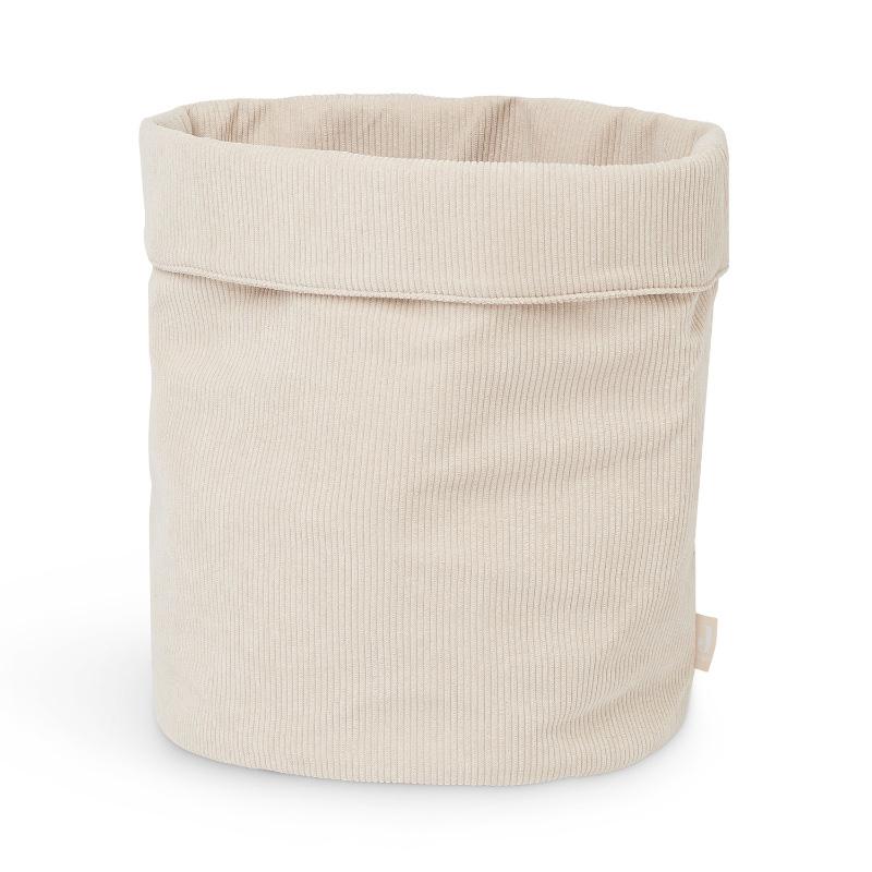 Jollein® Košara za shranjevanje Corduroy Nougat