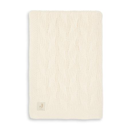 Jollein® Pletena odejica Spring Knit Ivory 100x75