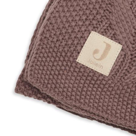 Jollein® Pletena odejica Spring Knit Chestnut 100x75