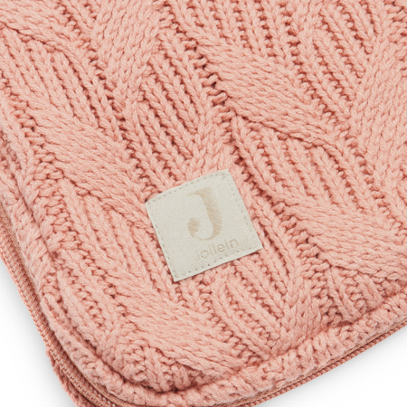 Jollein® Zimska vreča Basic Knit Rosewood
