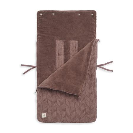 Slika Jollein® Zimska vreča Basic Knit Chestnut