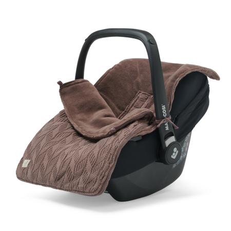 Jollein® Zimska vreča Basic Knit Chestnut