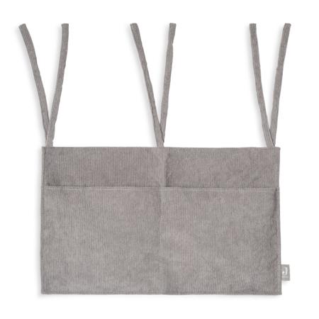 Jollein® Organizator za posteljico Corduroy Storm Grey
