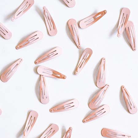 Špangice za lase Pink 25 kos