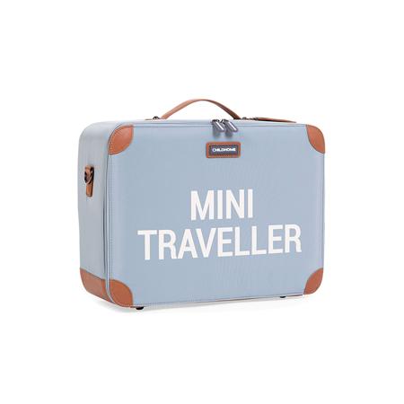 Childhome® Potovalni kovček MINI Traveller Grey Off White