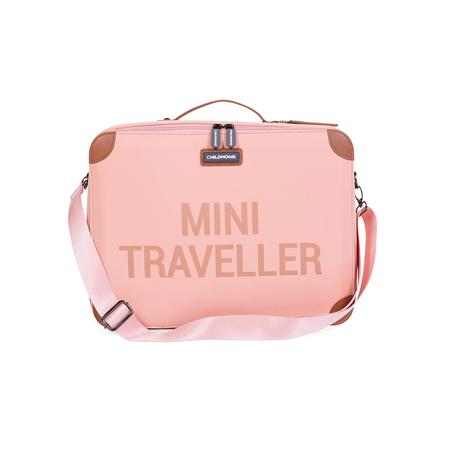 Childhome® Potovalni kovček MINI Traveller Pink Copper
