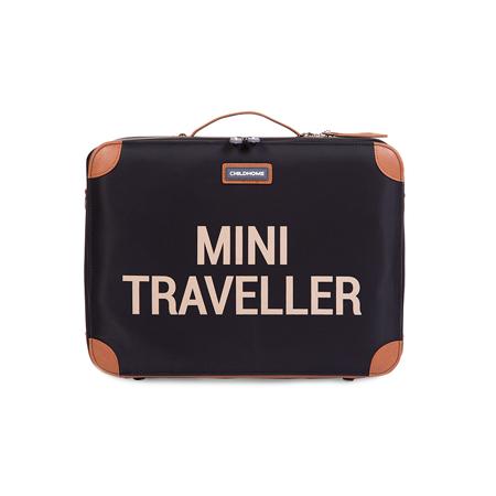 Slika Childhome® Potovalni kovček MINI Traveller Black and Gold