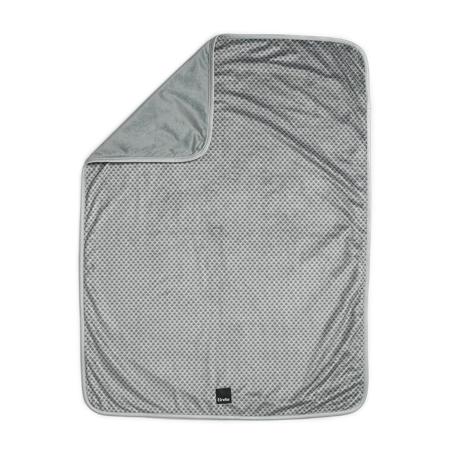 Elodie Details® Žametna odejica Turquoise Nouveau 75x100