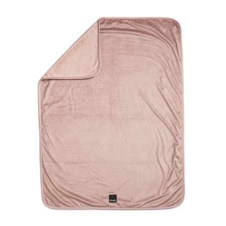 Elodie Details® Žametna odejica Pink Nouveau 75x100